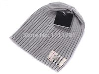 Gros-Vintage Plaid rayé hiver Skullies 2,015 créateur de la marque de causalité Bonnets chapeaux pour hommes femmes Toucas De Inverno Gorro Chapeu