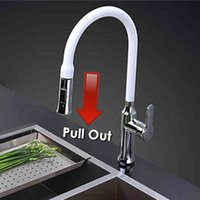 kitchen faucet spray - Brass Construction pull out Spray Kitchen Faucet Mixer Tap