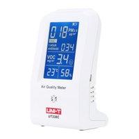 Wholesale UNI T UT C High Precision Indoor VOC PM2 Data Logger Detector Air Monitor Thermometer Hygrometer US Plug
