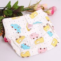 Wholesale Baby Cartoon Pc Changing Newborn Waterproof Breathable Adjustable Infant Washable Cloth Diaper Nappies New DP676807