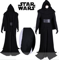 Wholesale Star Wars VII The Force Awakens Kylo Ren Cosplay Costume Outfit Mask