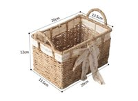 Wholesale Cheap sale eight styles natural Environmental willow weave basket storage basket wood basket for storage orgnization picnic basket