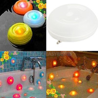bathtub whirlpools - H3 R Romatic Waterproof Color Change Bathtub LED Night Light Saferty Battery Operated Whirlpools Floating LED Night Light