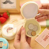 baby changing box - 2015 Korean Baby Girl Circle Coin Purse Tin Change Purse Coin Bag Coin Box Money Bag Money Box For Baby Girls Gift