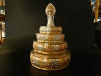 Wholesale Nepal trumpet gilt copper plate Tantric adder Tibetan Buddhist supplies