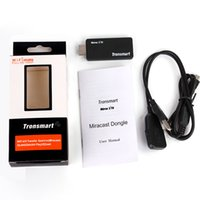 Wholesale Mirror2TV Mircast Dongle Builtd in Realtek RTL8188 Wifi Module Ghz Linux OS Ezcast Miracast DLNA Airplay HDTV with available HDMI input