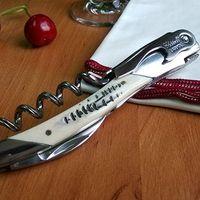 Wholesale New Laguiole Bottle Opener Waiter Bovine bone Handle Corkscrew opener Stainless Steel Wine Opener