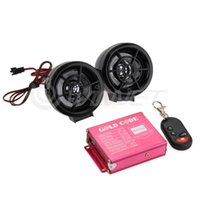 Wholesale Motorcycle Audio Remote Sound System Support SD USB MP3 FM Radio Black