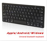 Cheap Universal Slim Wireless Bluetooth Keyboard For IOS Android PC For Windows For Ipad Air 3 Mini 2 APPK78