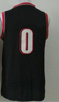 Wholesale Hot Hot Hot New Arrived Revolution Swingman Men s Damian Lillard Basketball Jerseys Embroidery Logo Jersey
