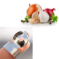 kitchen utensils - Kitchen Peeling Tool Hygien Garlic Chestnut Peeler Slicer Hand Protector Utensil Hot Brand New