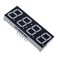 Wholesale High Quality Inch Segment Digit Super Red Clock LED Display Common Anode Time Pins for DIY