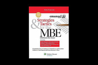bar books - 2015 hot book Strategies Tactics for the MBE Fifth Edition Emanuel Bar Review th Edition