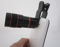 Wholesale Universal X Zoom Mobile Phone Telescope Lens with Clip for Samsung Iphone Ipad Cell Phone Lens