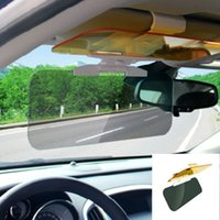 Wholesale Front Windshield Car Interior Sunshade Goggles Car Night Vision Anti dazzle Mirror Universal car anti glare Visor Day and Night Sunshade
