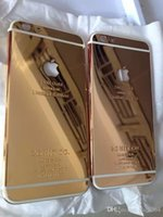 24kt gold - 24K Gold Plating Back Housing Cover Case Skin Battery Door For iPhone G plus S S Luxury Limited Edition Kt Bezel Frame Faceplate