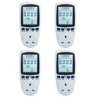 Wholesale UK Plug Digital Power Meter Medidor Energy Voltage Watt Analyzer Electricity Usage Monitor Sale