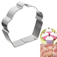 Wholesale Creative Eco Friendly Stainless Steel Cake Cupcake Cookie Cutter Fondant Biscuit Baking Cutter Mould Kitchen