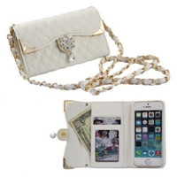Wholesale S5Q Flip PU Leather Purse Case Thin Cover Bling Skin Card Bags For Iphone s Plus For s AAADZU