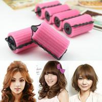 Wholesale Magic Sponge Foam Cushion Hair Styling Rollers Curlers Twist Tool
