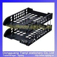 Wholesale tier document tray plastic document tray desk organizer