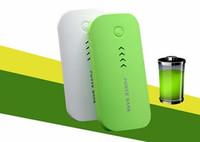 Cargador móvil de la batería carga banco de la energía 5600mAh powerbank portátil fuente de alimentación de batería externa para el teléfono móvil con la caja al por menor