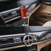 Wholesale Fashion Hot Universal Folding Air Conditioning Inlet Auto Car Drink Holder Car Beverage Bottle Cup Car Frame for Truck Van Drink