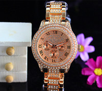 Wholesale 2015 Luxury MlchaelK0rs Brand Watches Womens Diamonds Watches Brand Eyes Women Watches Ladies Designer Wristwatches With Gift Box