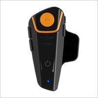 Wholesale BT S2 bluetooth headset BT intercom headset FM radio wireless m for motorcyclist and skier handsfree