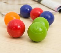 Wholesale 4pcs Baby rattles ball grasping easy grip plastic ball bouncing ball Children s toys
