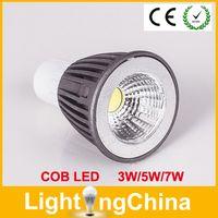 mr16 3w - New Arrival COB LED Lights Bulbs W W W Dimmable AC90 V E27 GU10 MR16 E14 GU5 B22 Warm White Pure White Cool White