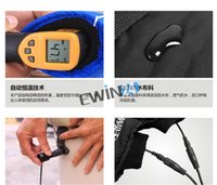 Wholesale New and high quality Safe Electric Heated Warmer blue Gloves cycling Outdoor For Man Woman Winter