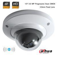 Dahua 3.0MP CMOS CCTV Full HD Wi-Fi Mini Dome 1080P Seguridad Cámara IP 3.6mm lente