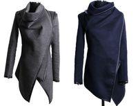 women winter coats - IMVATION New Fashion High Quality Hot Sale Fashion Long Size Winter Outwear Cashmere Jacket Coat Trench Lady Woolen Parka