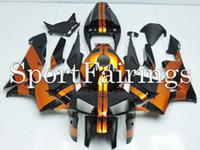 Wholesale Fairings Fit Honda CBR600RR F5 Year ABS Motorcycle Full Fairing Kit Bodywork Motorbike Cowing Black Gold