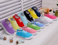 band zoom - Explosion models canvas shoes boys and girls candy colored shoes toddler shoes for children years old children s shoes