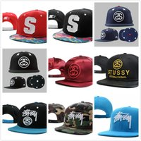 stussy - 10 new Stussy Stock Snapback Arrival many colors Fashion hip hop cap Baseball cap hat Men and women sport cap