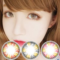 Wholesale 1pair new Nina colors bottle package color contact lenses DHL shipping Recognized comsmetic contact lenses