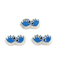 baby boy live - floating charm baby boy blue hands floating charms for living locket