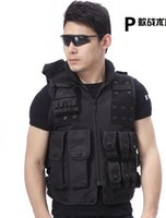 Wholesale Brand New Athletic Sports Outdoor Apparel Jackets American SWAT Tactical Vest Nylon Cotton Black