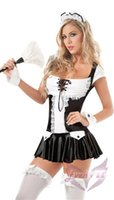 Cheap Sexy Costumes Cosplay Anime Costumes lingerie for Adults Female Character Women Cute Maid