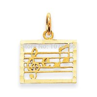 antique stoves - 100pcs zinc alloy antique silver or gold plated music note and stave musical charms