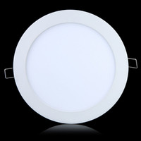 Cheap AC95-240V 9W 12W 15W 18W 24W CREE LED Panel lights Recessed lamp Round Led downlight for indoor lights + Led Driver