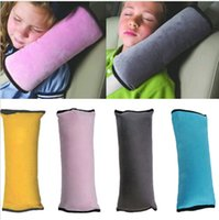 child harness - Kid Children Car Bed Safety Seat Belt Cushion Pillow Harness Pad Sleep Cover DH04
