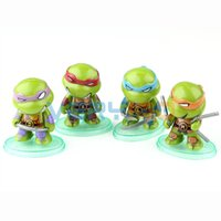 Wholesale 4pcs cm Teenage Mutant Ninja Turtles Action Figures Anime Toys Classic Collection order lt no track