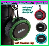audio sound box - c6 IPX7 wireless Bluetooth Speaker waterproof Suction Cup speakers Handsfree MIC Voice Box portable dustproof shockproof bluetooth