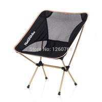 Wholesale Naturehike Outdoor Side Chair Portable Aluminium Alloy Chair Foldable Fishing Chair NH15Y012 L