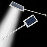 Wholesale 12 LED Solar Powered Panel LED Street Light Solar Sensor Lighting Outdoor Path Wall Emergency Lamp Security Spot Light Luminaria
