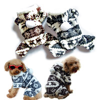 pet dog clothing - Pet dog clothes dog clothing harness sweater winter pet products dog cachorro hoodie costume coat winter clothes for dogs