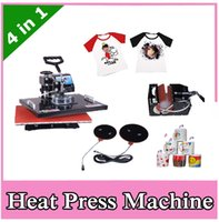 t shirt machine - New design T shirt Heat Press Machine cm CE Approved Puzzles Tile Rhinestone Mouse Pad Heat Transfer Printing Machine by DHL